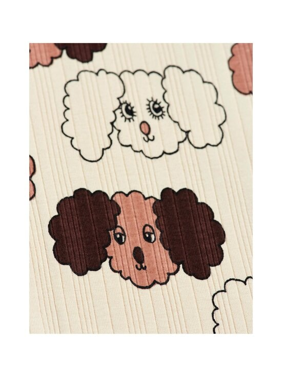 Mini Rodini - Fluffy Dog -leggingsit - BEIGE | Stockmann - photo 2