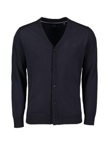 GANT - Cotton Silk -neuletakki - 433 EVENING BLUE | Stockmann