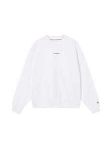 Calvin Klein Jeans Plus - Plus Unisex Micro Branding -collegepaita - YAF BRIGHT WHITE   Stockmann