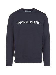 Calvin Klein Jeans - Institutional Logo -collegepaita - NIGHT SKY (TUMMANSININEN) | Stockmann
