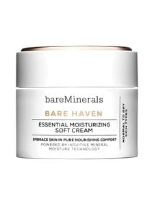 Bare Minerals - Bare Haven Essential Moisturizing Soft Cream -kasvovoide 50 ml | Stockmann
