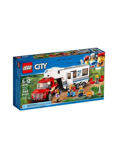 LEGO Avopakettiauto ja asuntovaunu