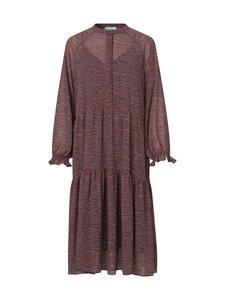 SECOND FEMALE - Venezia Midi Dress -mekko - 3101 ROAN ROUGE | Stockmann