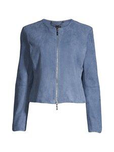 Ril's - Bonito-mokkanahkajakku - 370 MISTY BLUE | Stockmann