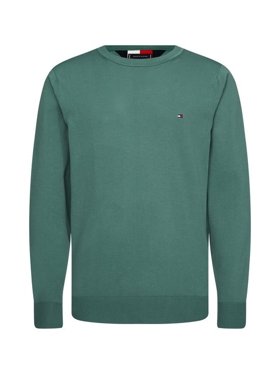 Tommy Hilfiger - TH Flex Crew Neck -neule - MBZ JUNIPER GREEN | Stockmann - photo 1