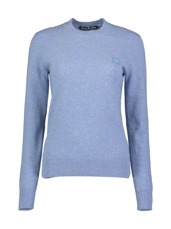 Acne Studios - Kalon Face Knit -villaneule - MINERAL BLUE | Stockmann - photo 1