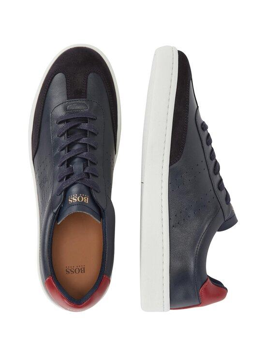 BOSS - Ribeira_Tenn_ltwt-nahkasneakerit - 401 DARK BLUE | Stockmann - photo 3