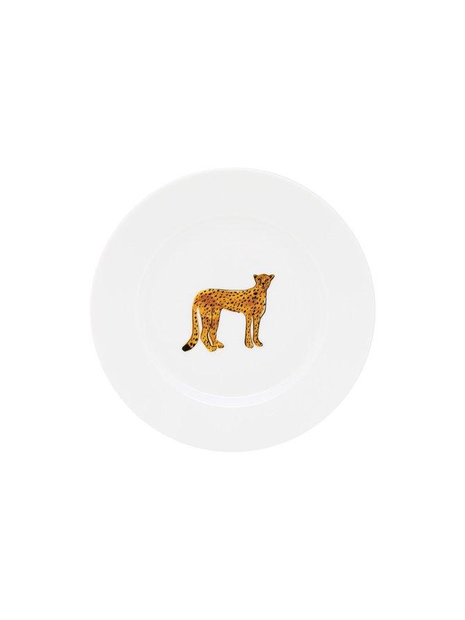 Cake Plate Cheetah -lautanen 17,5 cm