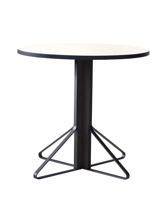 Artek - REB003 Kaari -pöytä, HPL - GLOSSY WHITE/BLACK OAK (VALKOINEN/MUSTA)   Stockmann - photo 1
