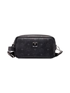 MCM - Visetos Wash Bag -toilettilaukku - BLACK | Stockmann