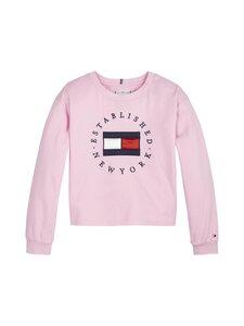 Tommy Hilfiger - Heritage Logo Tee L/S -paita - TOJ ROMANTIC PINK | Stockmann