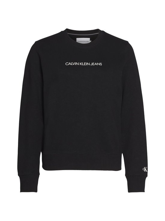 Calvin Klein Jeans - Shrunken Institutional GMD -collegepaita - BAE CK BLACK | Stockmann - photo 1