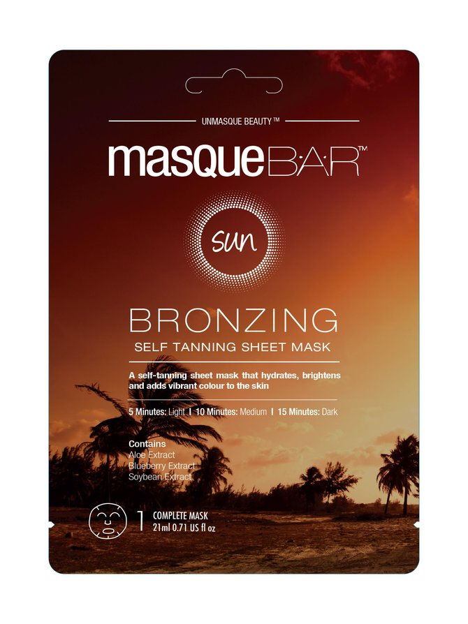 Self Tanning Sheet Mask -itseruskettava kasvonaamio 21 ml