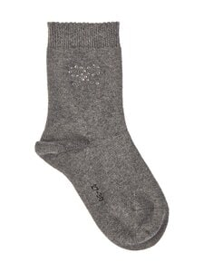 Falke - Twinkle Bow -sukat - 3070 DARK GREY | Stockmann