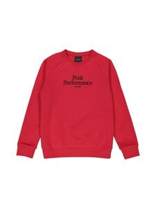 Peak Performance - JR Original Crew The Alpine -collegepaita - RED | Stockmann