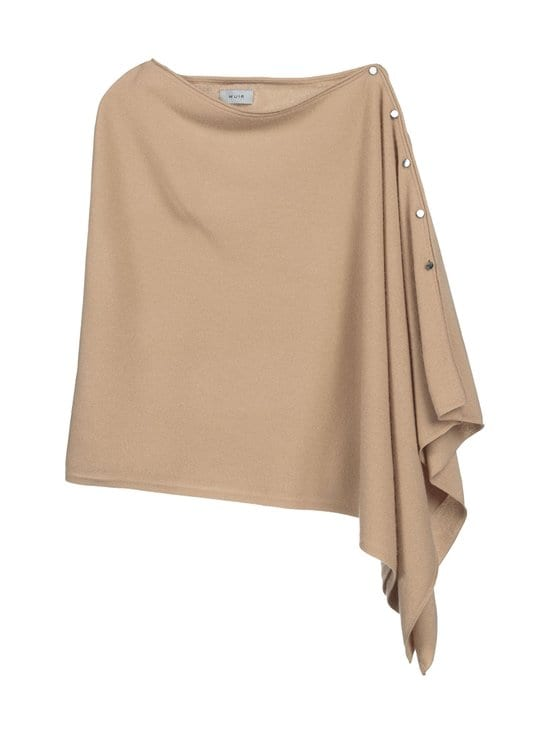 Bmuir - Lausanne-kashmirponcho - 844 ALMOND MELANGE | Stockmann - photo 1