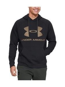 Under Armour - Rival Fleece Sportstyle Logo Hoodie -huppari - 002 BLACK | Stockmann