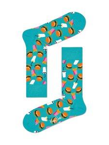 Happy Socks - Hamburger-sukat - 7300-GREEN | Stockmann