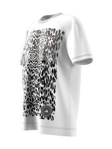 adidas by Stella McCartney - Graphic Tee -paita - WHITE | Stockmann