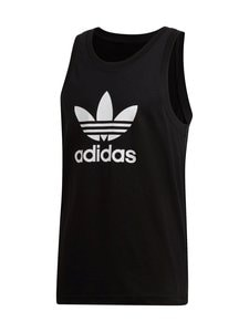 adidas Originals - Trefoil Tank -paita - BLACK | Stockmann