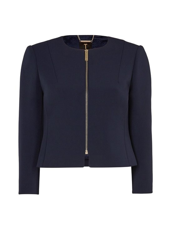 Ted Baker London - Eliaana Curved Hem Cropped -jakku - NAVY 10 | Stockmann - photo 1