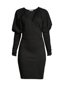NA-KD - Gathered Sleeve Jersey -mekko - BLACK | Stockmann