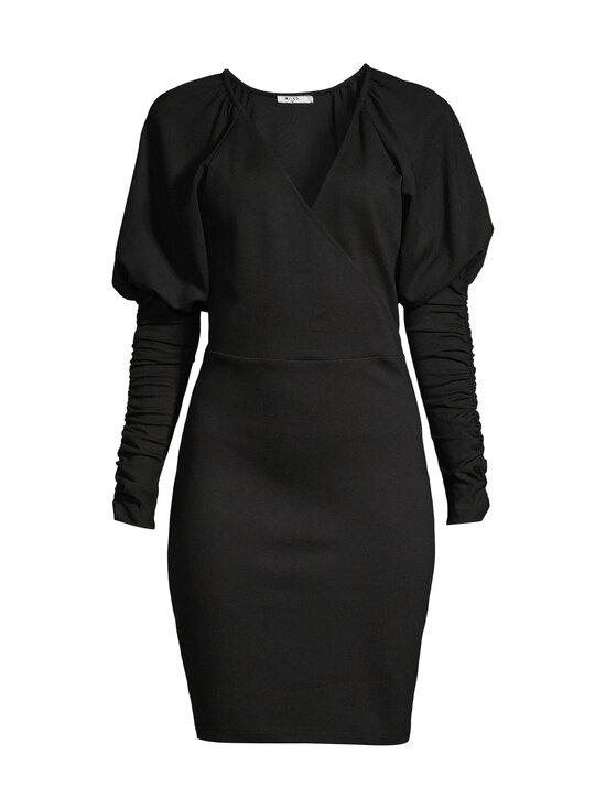 NA-KD - Gathered Sleeve Jersey -mekko - BLACK   Stockmann - photo 1