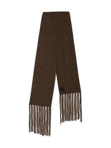 Nanushka - Levi Fluffy Knit -huivi - BROWN | Stockmann