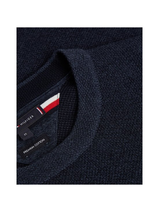 Tommy Hilfiger - Mouline Structure Crew Neck -paita - DW5 DESERT SKY | Stockmann - photo 5