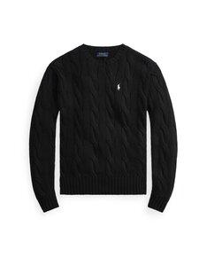 Polo Ralph Lauren - Puuvillaneule - 001 BLACK | Stockmann