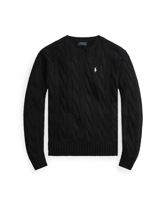 Polo Ralph Lauren - Puuvillaneule - 001 BLACK | Stockmann - photo 1