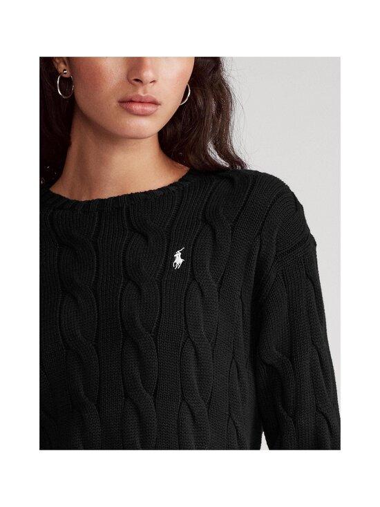 Polo Ralph Lauren - Puuvillaneule - 001 BLACK | Stockmann - photo 4