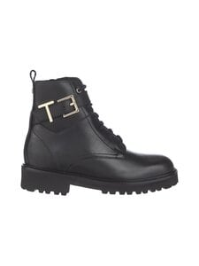 Ted Baker London - Raign Biker Boot -nahkanilkkurit - 00 BLACK | Stockmann