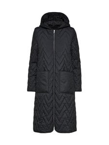 Selected - Slfnora Quilted Coat -takki - BLACK | Stockmann