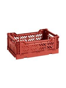 HAY - Colour Crate S -laatikko 26,5 x 17 x 10,5 cm - TERRACOTTA | Stockmann