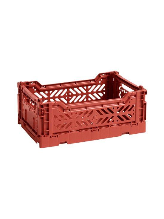 HAY - Colour Crate S -laatikko 26,5 x 17 x 10,5 cm - TERRACOTTA | Stockmann - photo 1