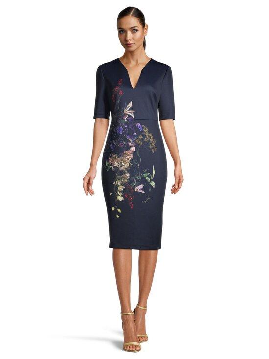 Ted Baker London - Carvir Pomegranate Midi Bodycon Dress -mekko - 10 NAVY | Stockmann - photo 2