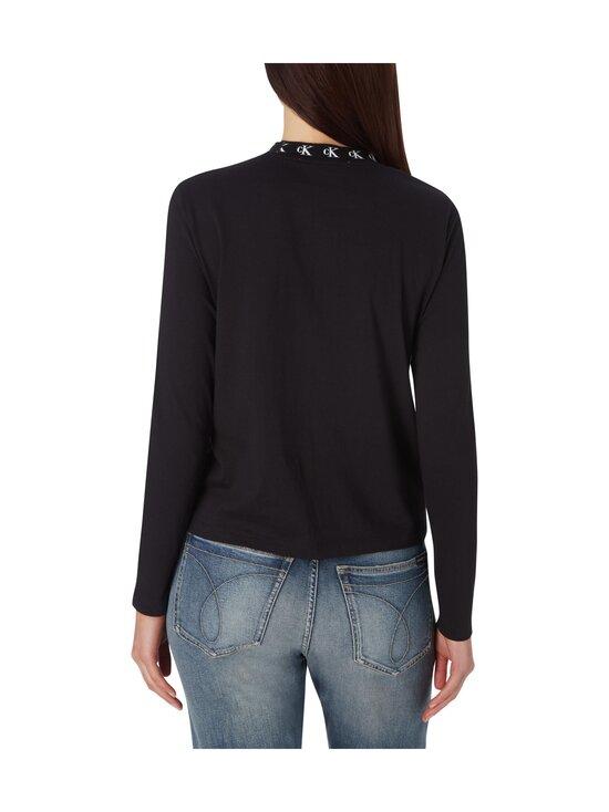 Calvin Klein Jeans - CK Logo Trim LS Tee -paita - BEH CK BLACK | Stockmann - photo 2