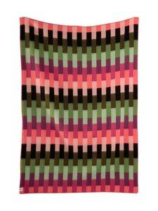 Røros Tweed - Åsmund Bold -huopa 135 x 200 cm - PINK GREEN | Stockmann