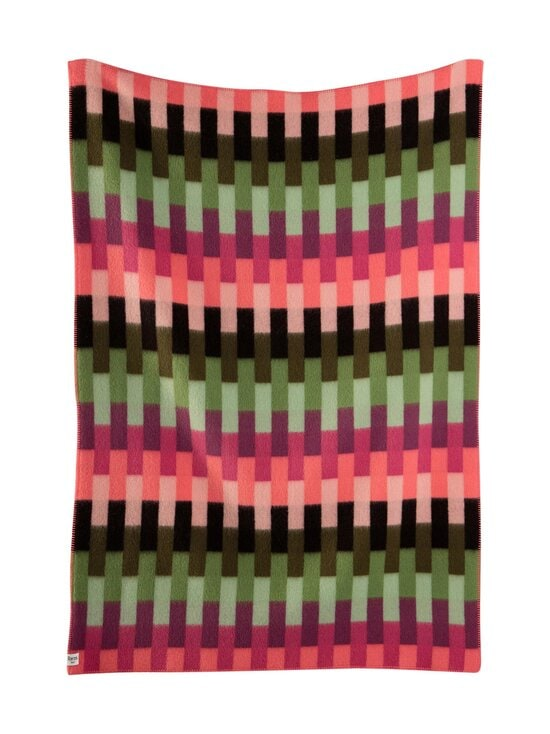 Røros Tweed - Åsmund Bold -huopa 135 x 200 cm - PINK GREEN   Stockmann - photo 1