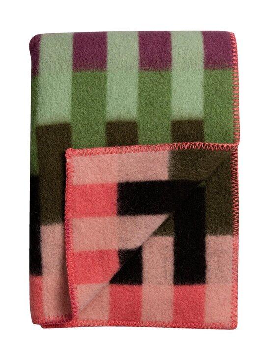Røros Tweed - Åsmund Bold -huopa 135 x 200 cm - PINK GREEN   Stockmann - photo 2