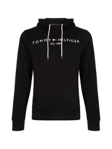 Tommy Hilfiger - Core Tommy Logo Hoody -huppari - JET BLACK | Stockmann