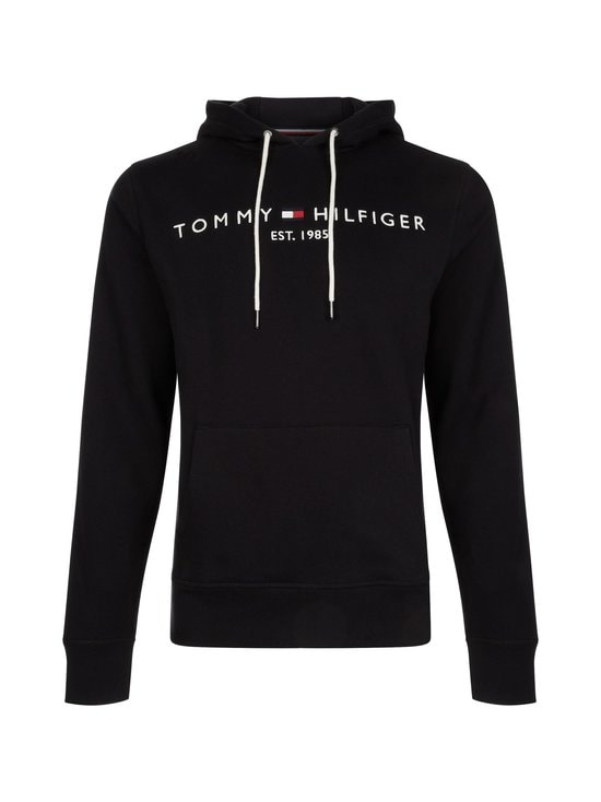 Tommy Hilfiger - Core Tommy Logo Hoody -huppari - JET BLACK | Stockmann - photo 1