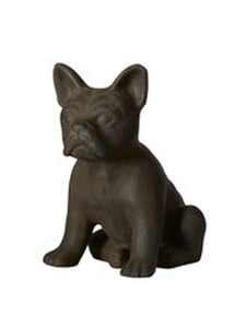 Wikholm Form - Bulldog Sitting -koriste 29 x 20 x 30 cm - BROWN MELANGE | Stockmann