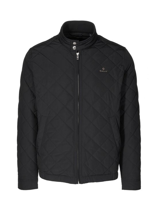 GANT - Quilted Windcheater -takki - 5 BLACK | Stockmann - photo 1