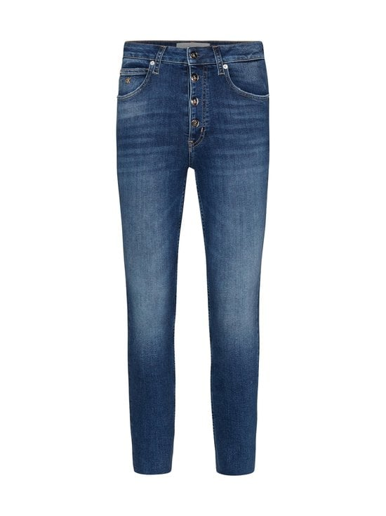 Calvin Klein Jeans Plus - Plus Size High Rise Skinny Ankle -farkut - 1A4 DA150 MID BLUE | Stockmann - photo 1