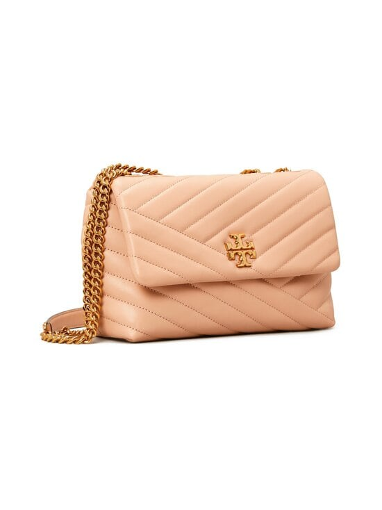 Tory Burch - Kira Chevron Small Convertible Shoulder -nahkalaukku - 288-DEVON SAND | Stockmann - photo 2