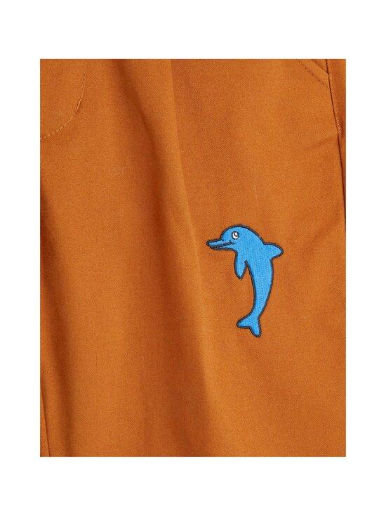 Mini Rodini - Dolphins-chinot - BROWN | Stockmann - photo 3
