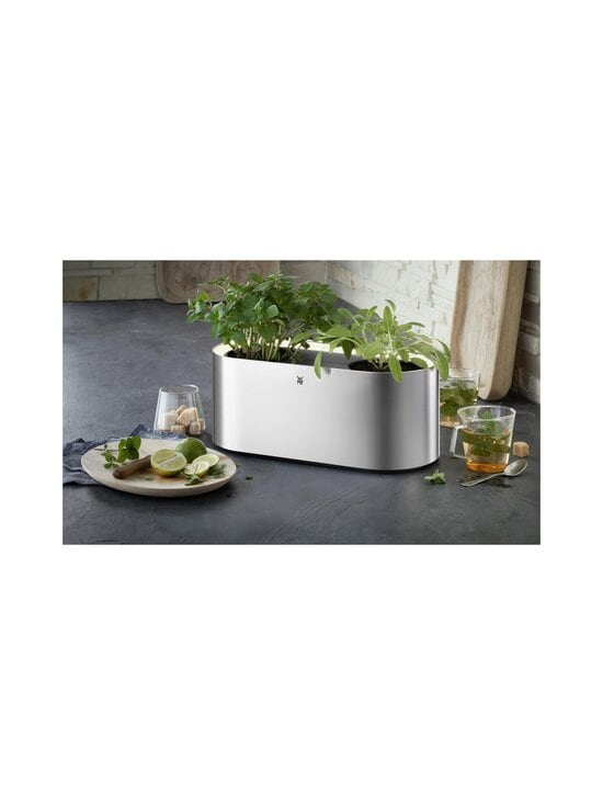 WMF - Ambient Herbs@Home Double -yrttipuutarha - STEEL | Stockmann - photo 5