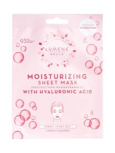 Lumene - HELLÄ Moisturizing Sheet Mask -kosteuttava kangasnaamio | Stockmann